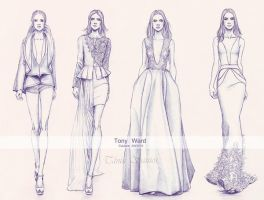 Tony Ward Couture AW2014 by Tania-S