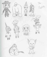 Puppet Chibis by Agent-Sarah