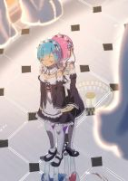 Rem Ram by Risa1