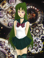 Sailor Pluto by spazzist