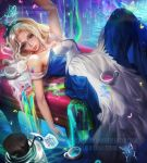 Colorful Alice by sakimichan