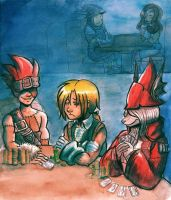 FFIX - Pub Night by sonopants
