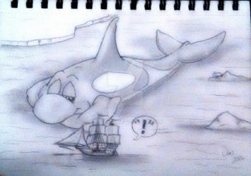 Captain....that ain't no iceberg! by Rikirk69