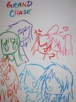 The Grand Chase Gang by ChibiYouko