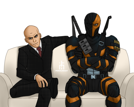 Lex and Slade by pencilHead7
