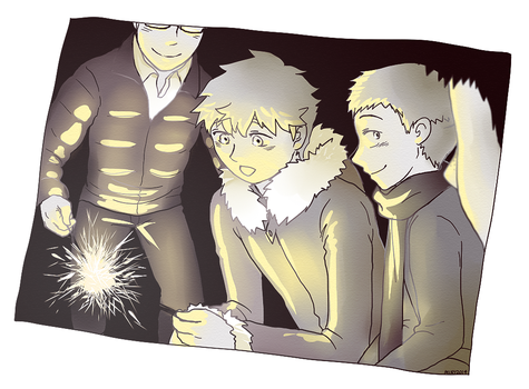 Sparklers by cocoamiri