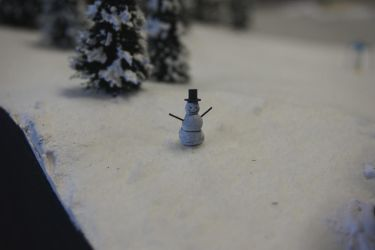 From Work: Snowman by uBrosis