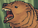 Vector Grizzly Bear by Dragoart