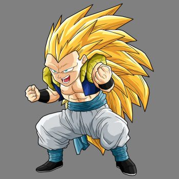 Gotenks  SSj3 by drozdoo