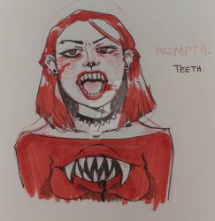 9. Teeth by LavenderNeko621