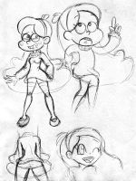 Mabel Pines doodles by DanOblong