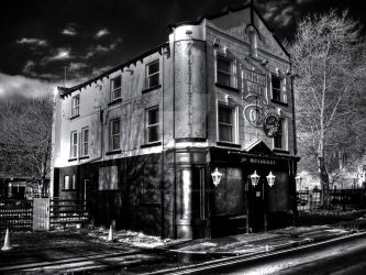 The Mulberry Hotel. Infrared by GaryTaffinder