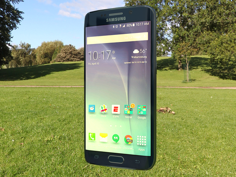 Galaxy S6 Edge render. by huckleberrypie