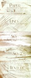 Various brushes by daydream-stock