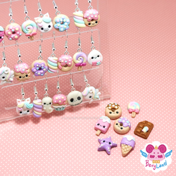 Kawaii Unpaired Earrings by dragonfly-world