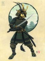 Sable Samurai by KaceyM