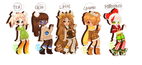 Sweets Adopts [4/5 OPEN] by hello-planet-chan