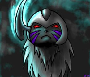 Dark Absol by TakoTank