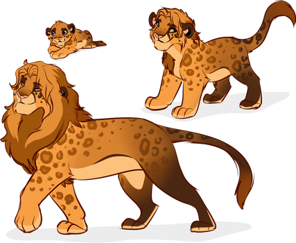 Leopon Adopt Auction: Closed by oCrystal