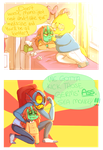 How To Handle Your Sick Child: Alphyne Edition by kyoukorpse