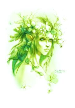 The dryad by YaLis