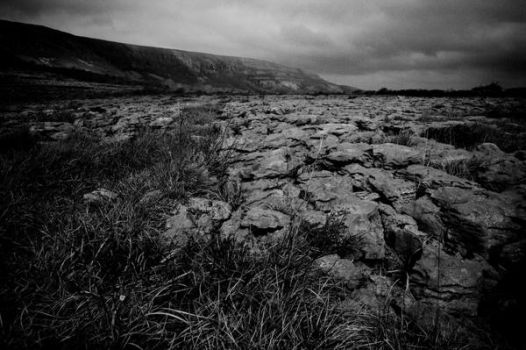Burren in Black and White by PonderStibbons
