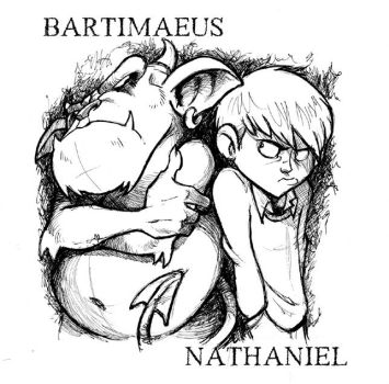 Bartimaeus and Nathaniel by TheoBain