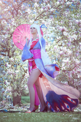 Houmei in Cherry Blossom by NicaCosplay