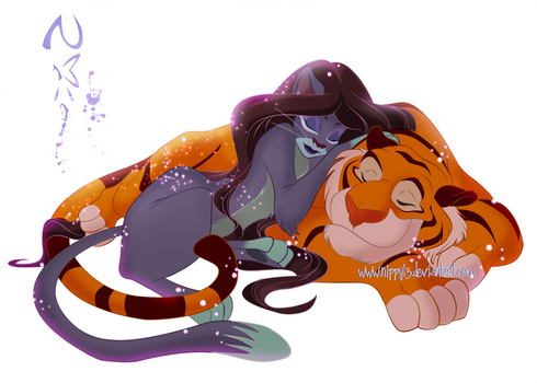Jasmine + Rajah -We're Friends by Nippy13