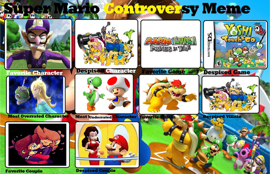 Mario Controversy Meme by Moonlight-Munna
