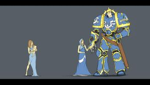 Roboute and Mother by Sael-ar