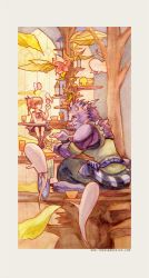 Cutie and the Beast by ethe