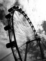 Singapore Flyer by ever4mc