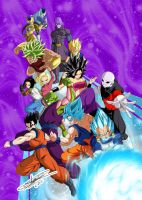 Dragon-ball-super-tournoi-de-la-survie by ChibiDamZ