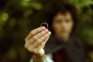 Frodo Baggins. One Ring by NellMcGooffin