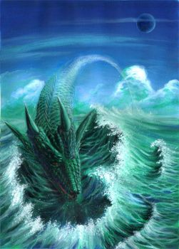 The Sea Dragon 55 by jotter