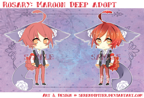 [CLOSED] ROSARY: Maroon Deep Adopt by Staccatos
