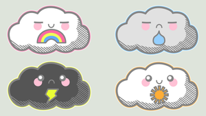 Today's Forecast, Cloudy... by Jade-Xe