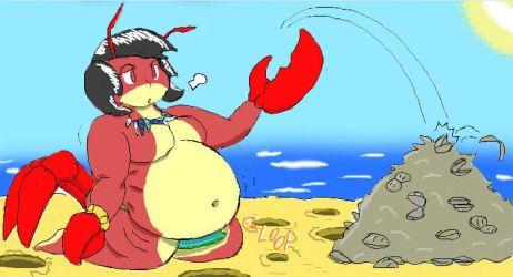 Iscribble: Clamdigger by MildConcussion