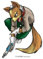 Hunting Fox by Daltair