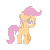 Scootaloo by The-Sliver-Stars