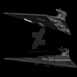 Star Destroyer refit by NewDivide1701