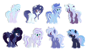 Comm: Princess Luna x Trixie Lulamoon :CLOSED: by HeavenlyBlazeAdopts