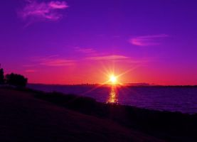 Alameda Sunset by infin8yquest