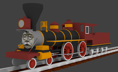 Beau the Grand Canyon Engine (so far) by Sirfowler1