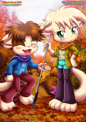 Your Turn To Rake The Leaves Annie by TomFraggle