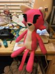 Handmade Katt Plush by TiredOrangeCat