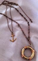 Atomic Artifacts - Anchor and Life-ring necklace by Anna-Atomic