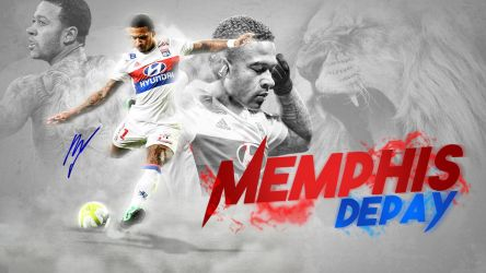 Memphis Depay Desktop Wallpaper 2017/2018 by GraphicSamHD