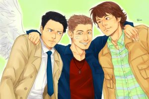SPN_trio by LinART